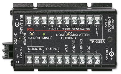 Radio Design Labs FP-CH8 Chime Generator FP-CH8