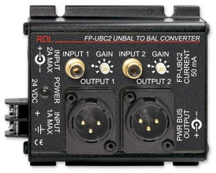 RDL FP-UBC2 Unbalanced to Balanced Converter FP-UBC2
