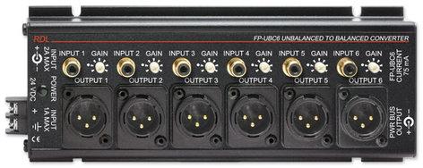 Radio Design Labs FP-UBC6 6-Channel Unbalanced to Balanced Converter FP-UBC6