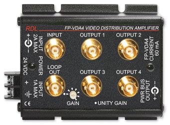 Radio Design Labs FP-VDA4 Video Distribution Amplifier FP-VDA4