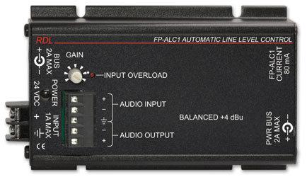 Radio Design Labs FP-ALC1 Single-Channel Mono Automatic Level Control FPALC1