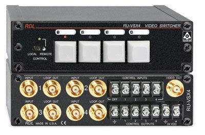 Radio Design Labs RU-VSX4 4-Input Video Switcher RUVSX4
