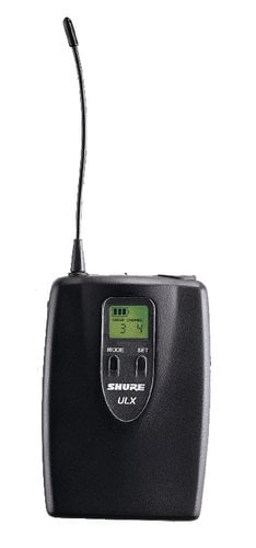 Shure ULX1-G3 UHF Bodypack Transmitter 470 - 505 MHz ULX1-G3