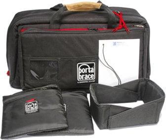 Porta-Brace CS-DV4R Mini DV Camcorder Case (Black with Red Trim) CSDV4R