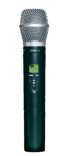 Shure ULX2/SM86-G3 ULX Series Wireless Handheld Transmitter with SM86 Cardioid Condenser Capsule, 470-505 MHz ULX2/SM86-G3