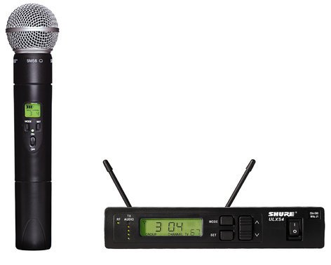 Shure ULXS24/58-G3 Handheld Wireless Microphone System with SM58 Capsule ULXS24/58-G3