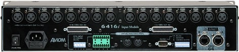 Aviom 6416I Pro64 Series 16-Channel Line Input Module with  XLR/DB25 Connectors 6416I