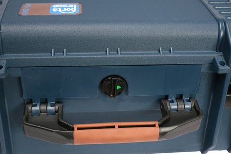 Porta-Brace PB-2650F Large Wheeled Vault Hard Case (with Foam Interior) PB2650F