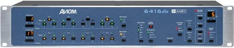 Aviom 6416DIO Pro64 Series 16-Channel AES3 Digital I/O Module with DB25 Connectors 6416DIO-DB25