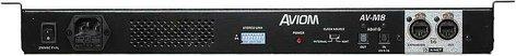 Aviom AV-M8  8 Channel Mic Input Module for Pro16 System AV-M8