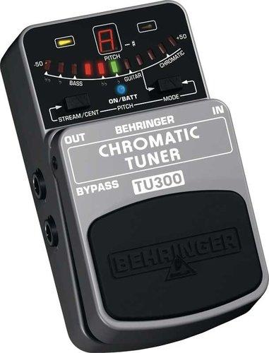 Behringer TU300 Chromatic Tuner Pedal for Guitars & Basses TU300-TUNER
