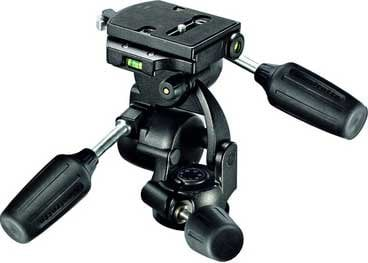 Manfrotto 808RC4 Head, Standard 3-Way with Quick Release Plate 808RC4