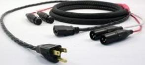 Pro Co EC10-25 25' Siamese Twin Audio/Power Cable Edison Plug/XLR-F to PC/XLR-M EC10-25