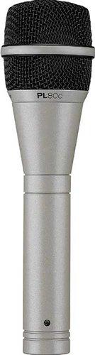 "Electro-Voice PL80C Dynamic Handheld Vocal Microphone, Supercardioid, ""Classic PL"" Beige Finish PL80C"