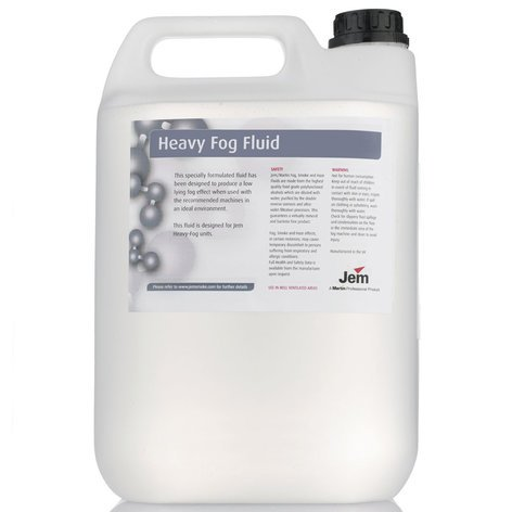 Martin Professional Heavy Fog Fluid 5 Liters of B2 Mix Fog Fluid HEAVYFOG-B2-5