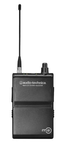 Audio-Technica M2RM Bodypack Receiver for M2M In-Ear Monitoring System M2RM
