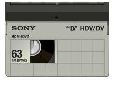 Sony HDM63VG  HDV Tape 63 Minute  HDM63VG
