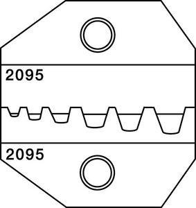 Paladin Tools 2095 Stripper Die 1300 Series 2095