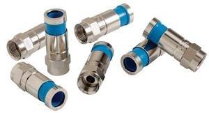 Paladin Tools 9645  50 Pack RG59 Connectors  9645