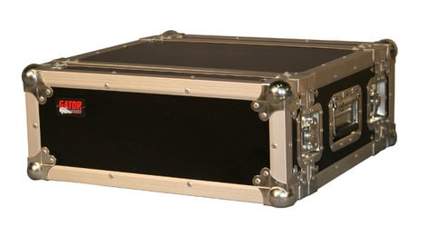 Gator Cases G-TOUR-EFX-4 4-Space Shallow Rack-Mount ATA Road Case G-TOUR-EFX-4