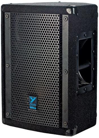 """Yorkville E10P 10"""" Speaker, 350W Powered, Black Ozite Carpet Finish E10P"""