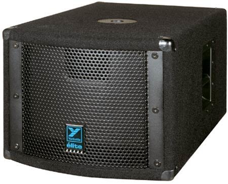 "Yorkville LS200P 10"" Powered Subwoofer, Carpet LS200P"
