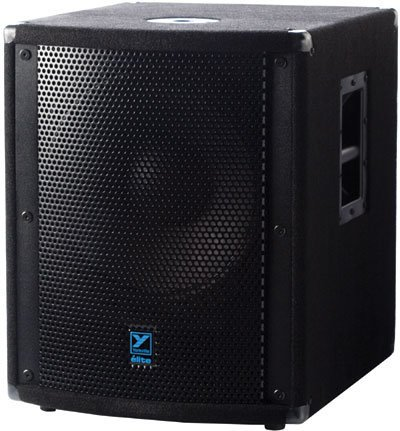 "Yorkville LS720P 15"" 1500W (Peak) Powered Subwoofer with Black Carpet Finish LS720P"