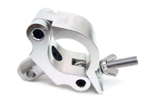 Global Truss COUPLER CLAMP N Heavy Duty Clamp with Half Coupler for 50mm Tubing COUPLER-CLAMP-N