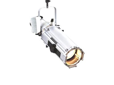 ETC/Elec Theatre Controls 42550-1C Source Four 25°-50° Zoom in White with Twist-Lock Connector S4ZOOM-25/50-C-WHITE