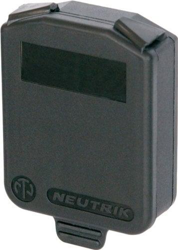 Neutrik SCDX D-Size Hinged Sealing Cover SCDX