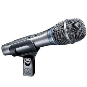 Audio-Technica AE5400 Handheld Condenser Vocal Mic, Cardioid AE5400