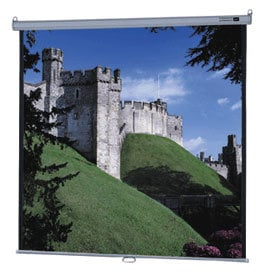 "Da-Lite 85308 96"" x 96"" Model B® Matte White Screen with CSR 85308"