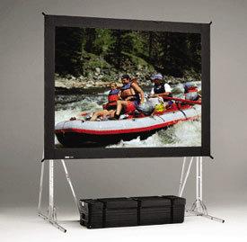 Da-Lite 87319 9' x 16' Fast-Fold® Truss Frame Dual Vision Projection Screen 87319