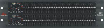 DBX 2231 Dual 31-Band Graphic Equalizer 2231-DBX