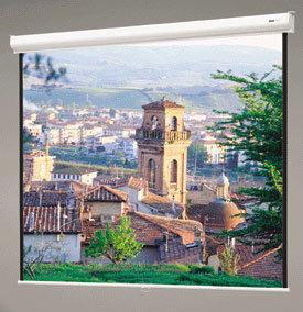 """Da-Lite 91976 69"""" x 92"""" Designer Contour® Manual Matte White Screen with CSR 91976"""