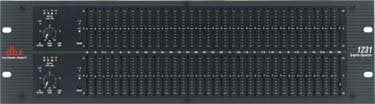 DBX 1231 Dual 31-Band Graphic Equalizer 1231