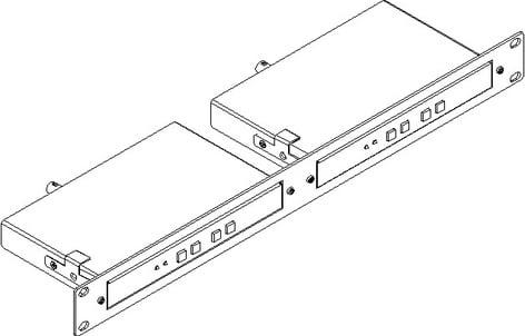 Kramer RK-T2B Rack Mount Kit (for 2 Kramer Large TOOLS™) RK-T2B