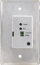 Kramer WP-120 Wall Plate, Active: 15-Pin HD Twisted Pair Receiver WP-120