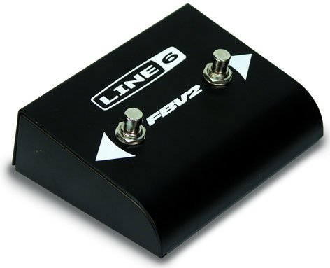 Line 6 FBV2 Two-Switch Foot Controller/Channel Selector FBV-2