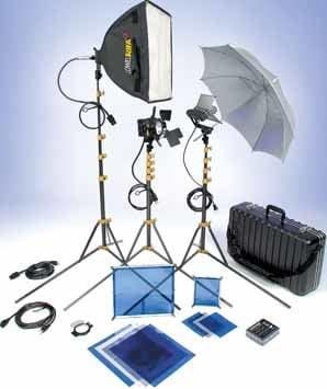 Lowel Light Mfg DVC-913 DV Core 250 Lighting Kit (with TO-83 Hard Case) DVC-913
