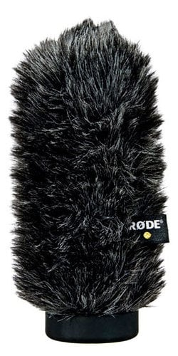 Rode WS6 Deluxe Windshield for NTG-1, NTG-2 WS6-RODE