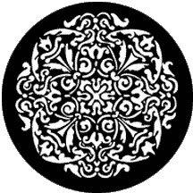 Rosco 77783 Gobo Antique Rosette 77783