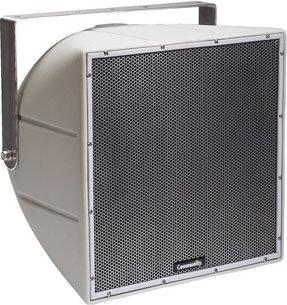 "Community R.5-66TZ 12"" 200W 2-Way Horn-Loaded Full-Range Weather-Resistant Speaker for 70V/100V Lines with 60°x60° Dispersion R.5-66TZ"
