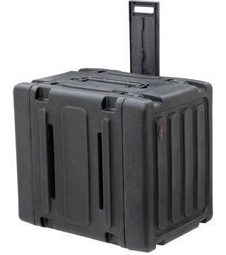 """SKB Cases 3SKB-R08U20W 20"""" Deep 8U Roto Shockmount Rolling Rack 3SKB-R08U20W"""