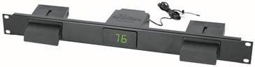 Middle Atlantic Products T1P 1 RU Decora Panel with Pre-Configured Temperature Display T1P-MID-ATLANTIC