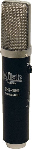 Milab DC-196 Multipattern Condenser Microphone with Large Rectangular Dual Membrane Capsule DC-196