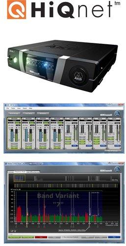 AKG HUB4000Q HiQ Net Ethernet Interface, Supports AKG SST 4 (IVM 4) and SR 4000/4500 (WMS 4000/4500) HUB4000Q