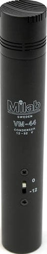 Milab VM44-CLASSIC Transformerless Interchangable Capsule Condenser Microphone (with Cardioid Capsule & -12 dB Switchable Pre-Attenuation) VM44-CLASSIC