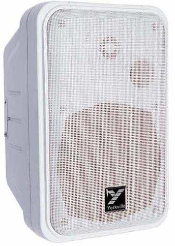 """Yorkville C120W/70 100W 70V Speaker with 5"""" Tweeter in White C120W/70"""