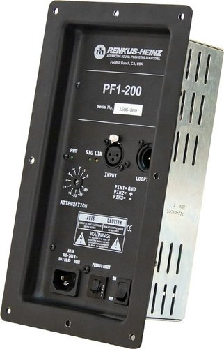 Renkus-Heinz PF1-200 200W RMS @ 4 Ohms PF Series Amp Module PF1-200